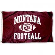 Montana Football Flag