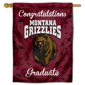 Montana Griz Graduation Banner