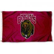 Montana Grizzlies Flag
