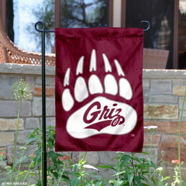 Montana Grizzlies Garden Flag