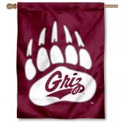 Montana Grizzlies House Flag