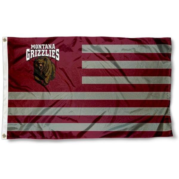 Montana Grizzlies Nation Flag