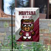 Montana Grizzlies Yuru Chara Tokyo Dachi Garden Flag