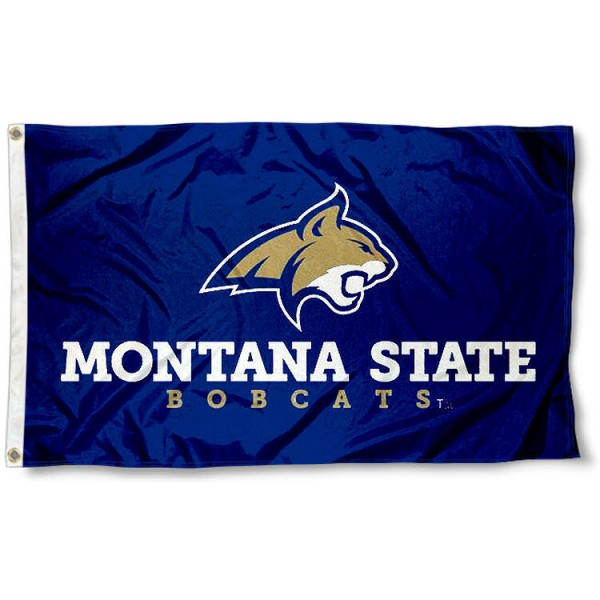 Montana State Bobcats New Logo Flag