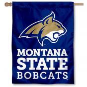 Montana State MSU Bobcats House Flag