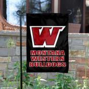 Montana Western Bulldogs Garden Flag