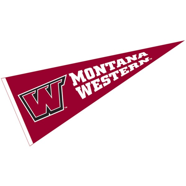 Montana Western Bulldogs Pennant
