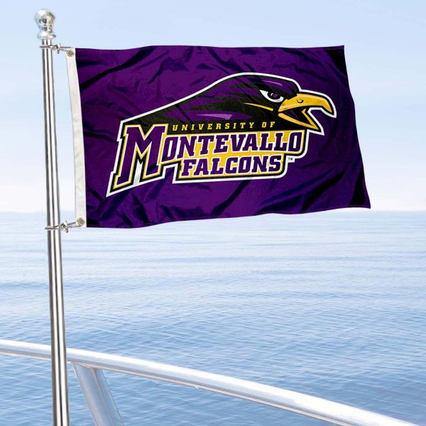 Montevallo Falcons Boat Nautical Flag