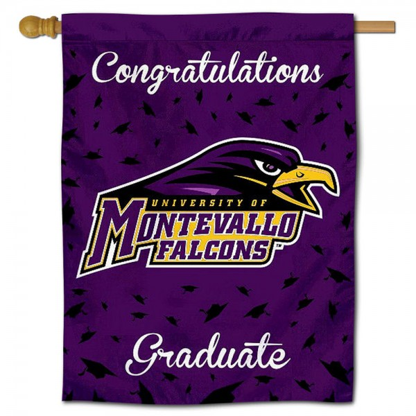 Montevallo Falcons Graduation Banner