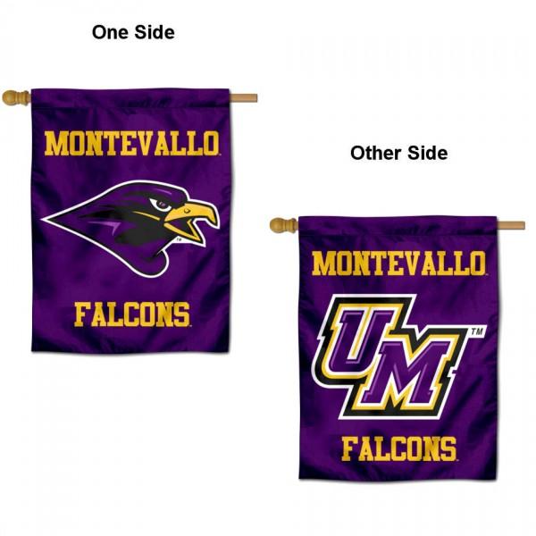 Montevallo Falcons House Flag