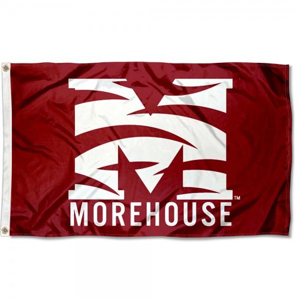 Morehouse College Logo Flag
