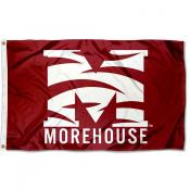 Morehouse College Logo Flag