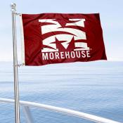 Morehouse Maroon Tigers Boat Nautical Flag