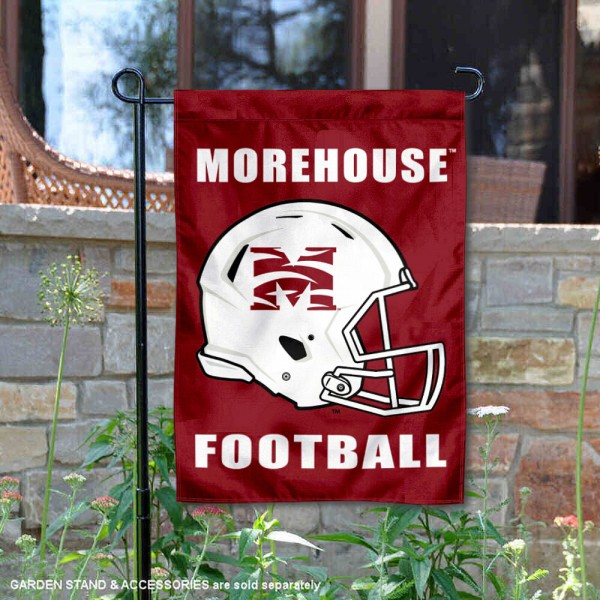 Morehouse Maroon Tigers Football Garden Flag
