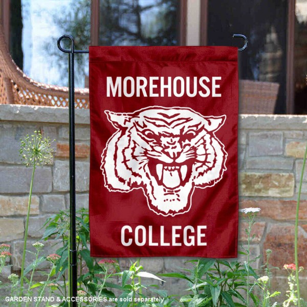 Morehouse Maroon Tigers Garden Flag