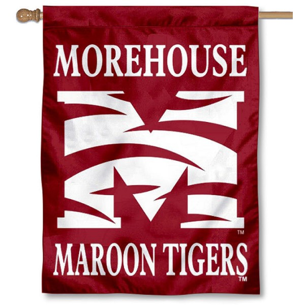 Morehouse Maroon Tigers House Flag