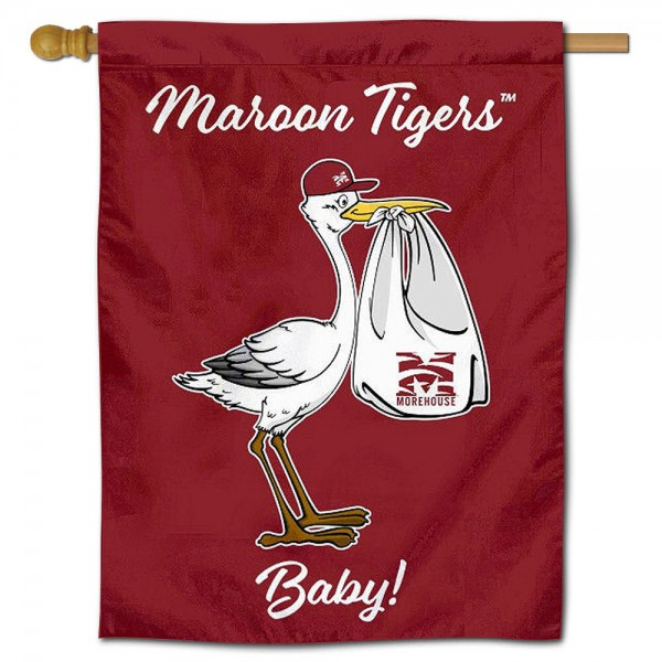Morehouse Maroon Tigers New Baby Banner