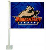 Morgan State Bears Car Flag