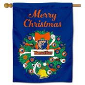 Morgan State Bears Christmas Holiday House Flag