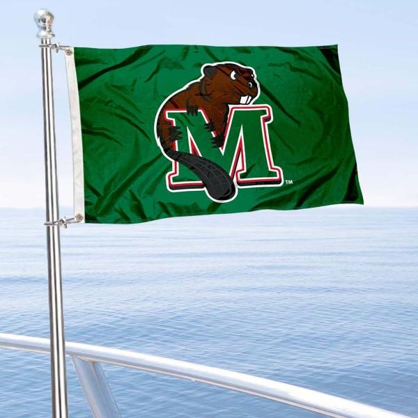 MSU Beavers Boat Nautical Flag