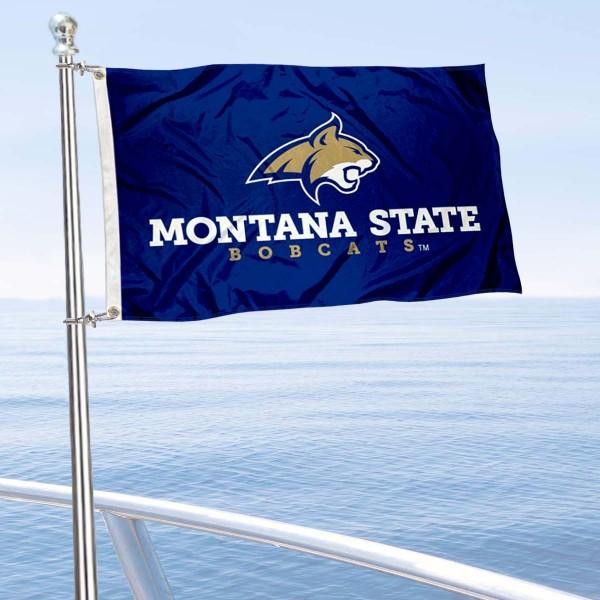 MSU Bobcats Boat Nautical Flag