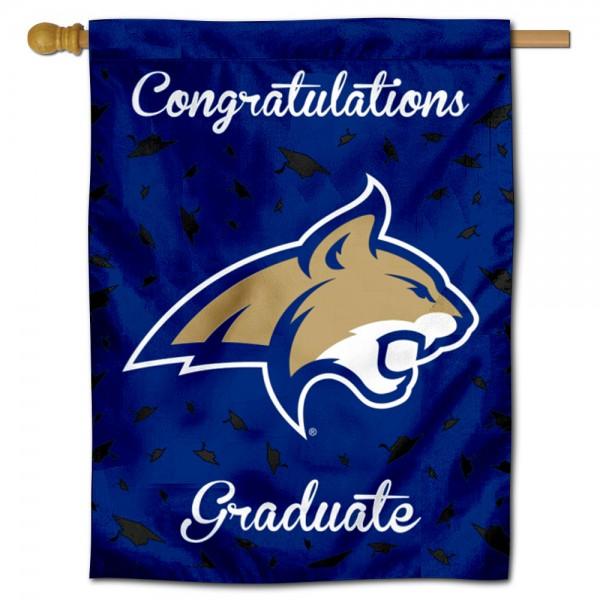 MSU Bobcats Graduation Banner