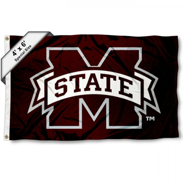MSU Bulldogs 4'x6' Flag