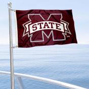 MSU Bulldogs Boat Flag