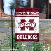 MSU Bulldogs Garden Flag