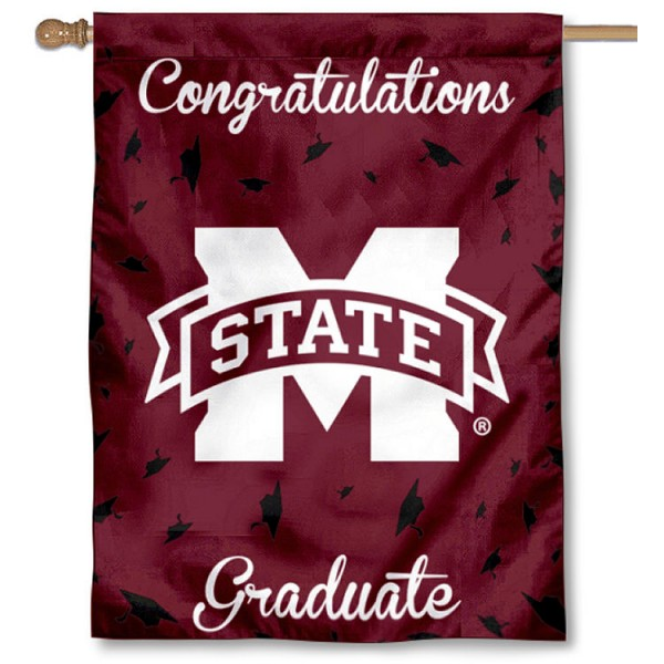 MSU Bulldogs Graduation Banner