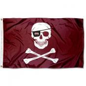MSU Bulldogs Leach Pirate Cross Bones 3x5 Foot Flag