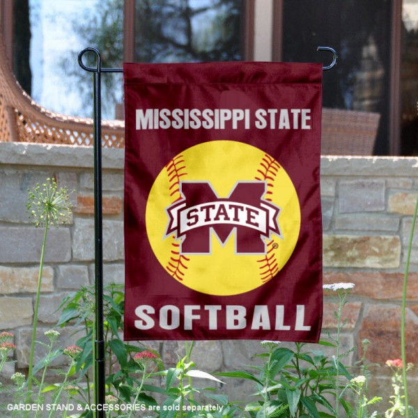 MSU Bulldogs Softball Garden Flag