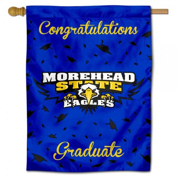 MSU Eagles Graduation Banner