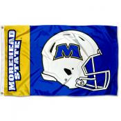 MSU Eagles Helmet Flag