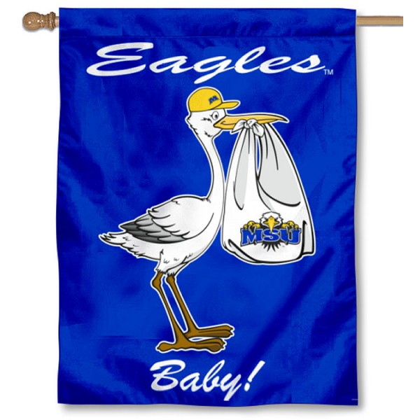 MSU Eagles New Baby Banner