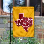 MSU Mustangs Garden Flag