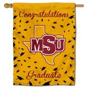 MSU Mustangs Graduation Banner