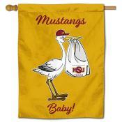 MSU Mustangs New Baby Banner