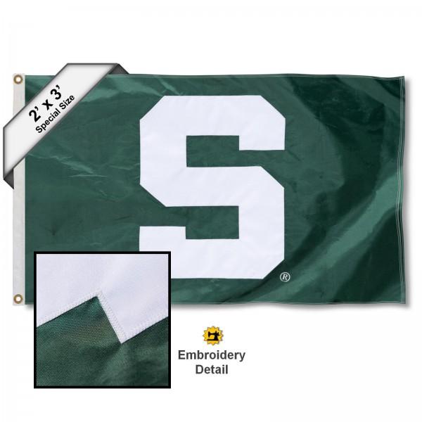 MSU Spartans 2x3 Flag