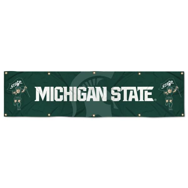 MSU Spartans 2x8 Banner