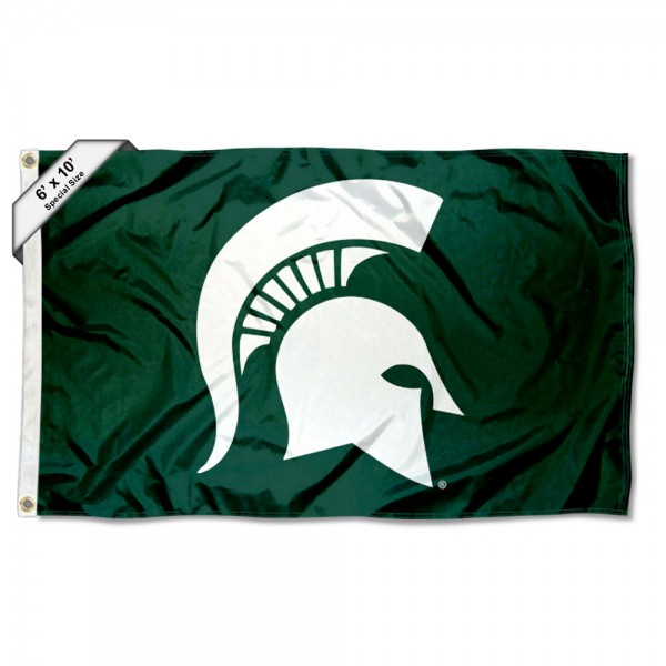MSU Spartans 6 by 10 Foot Flag