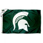 MSU Spartans 6 by 10 Foot Flag
