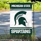 MSU Spartans Garden Flag