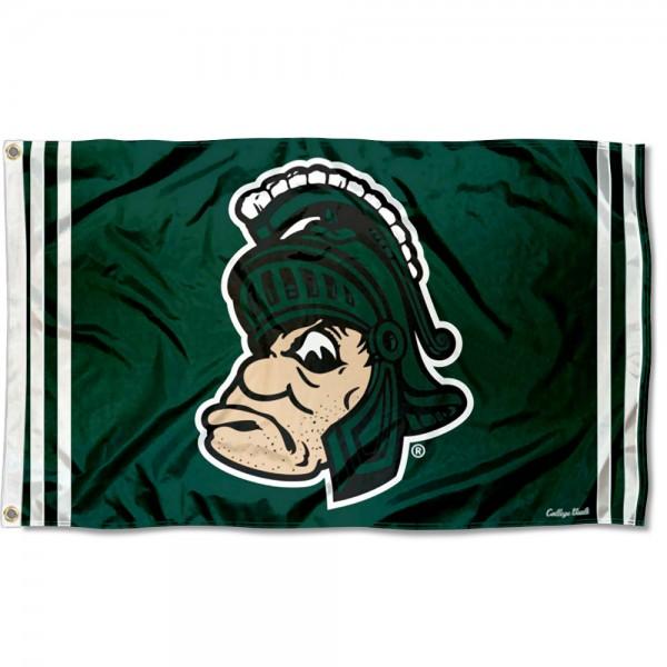 MSU Spartans Retro Vintage 3x5 Feet Banner Flag