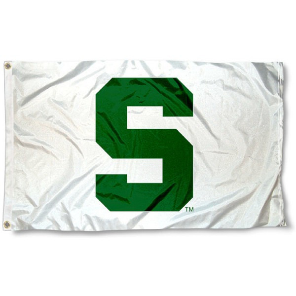 MSU Spartans White Flag