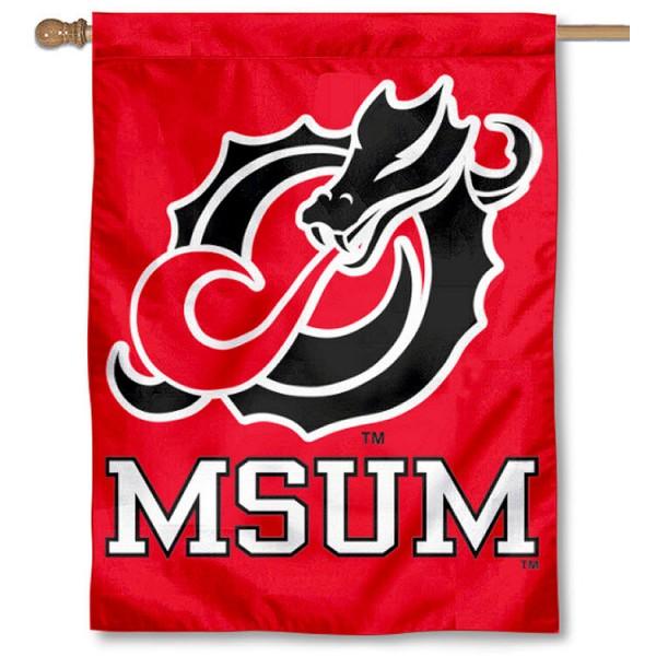 MSUM Dragons House Flag