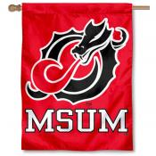 MSUM Dragons House Flag