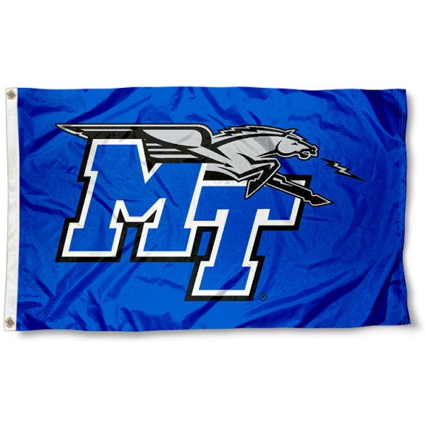 MTSU Blue Raider Flag