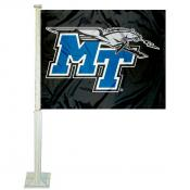 MTSU Blue Raiders Car Flag