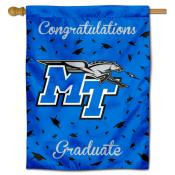 MTSU Blue Raiders Graduation Banner